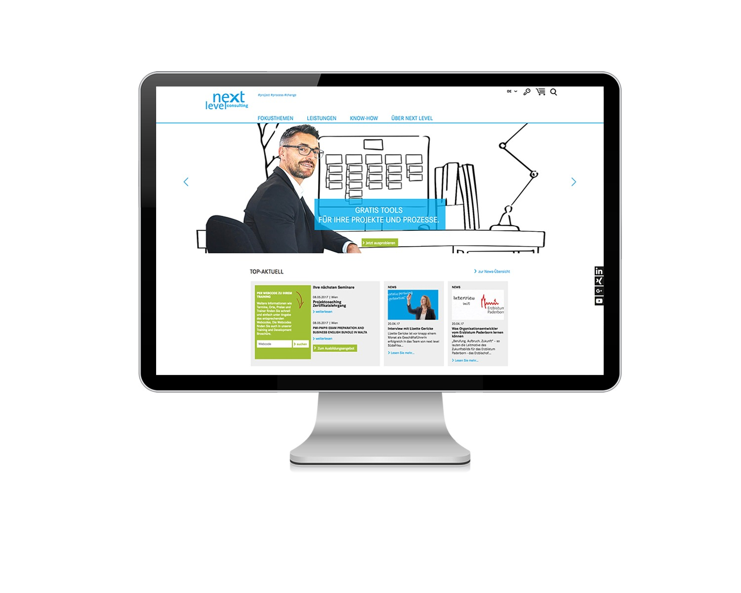 next level consulting – Web Relaunch