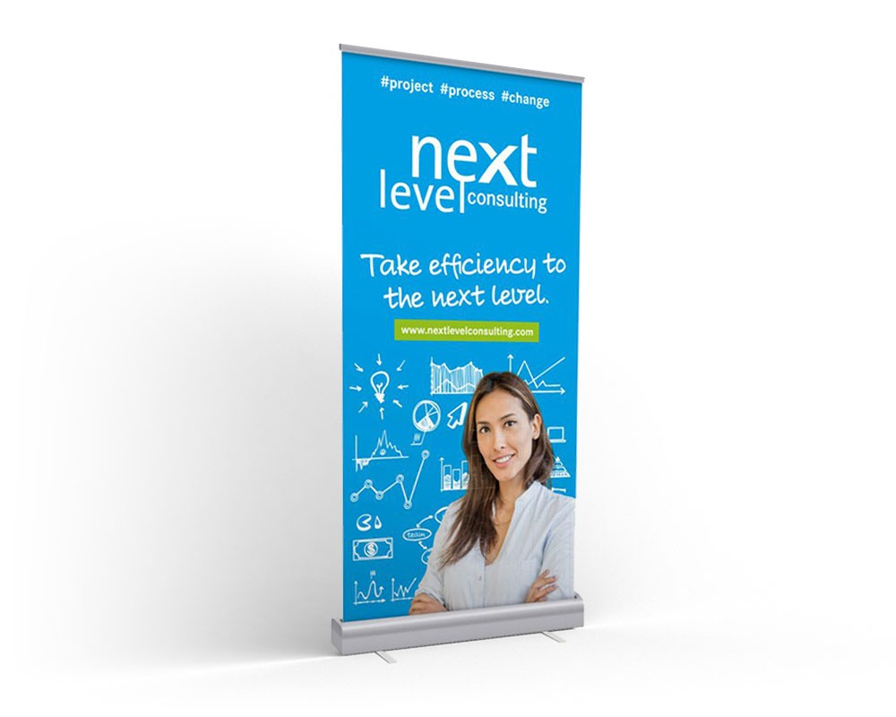 next level consulting– Drucksorten und Werbemittel